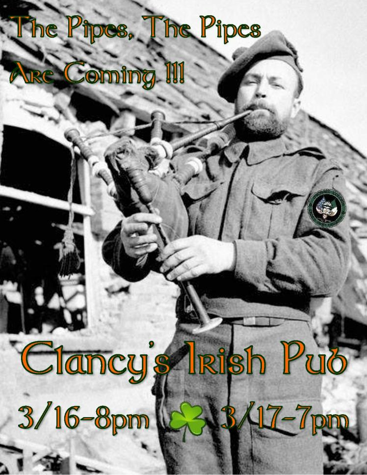 The Pipes, The Pipes Clancy s  fLYER 2018 JPG.jpg